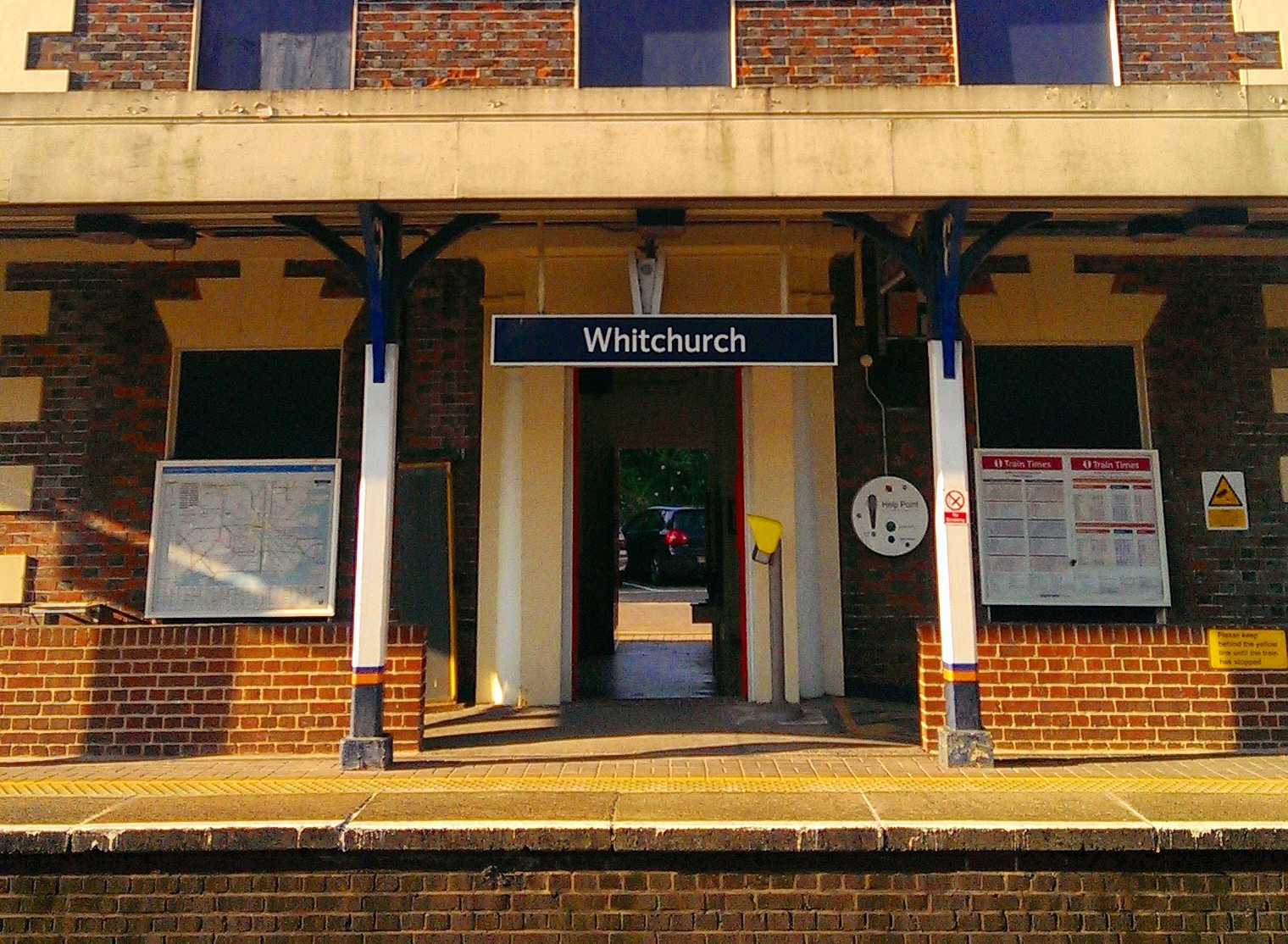 Whitchurch Hampshire station