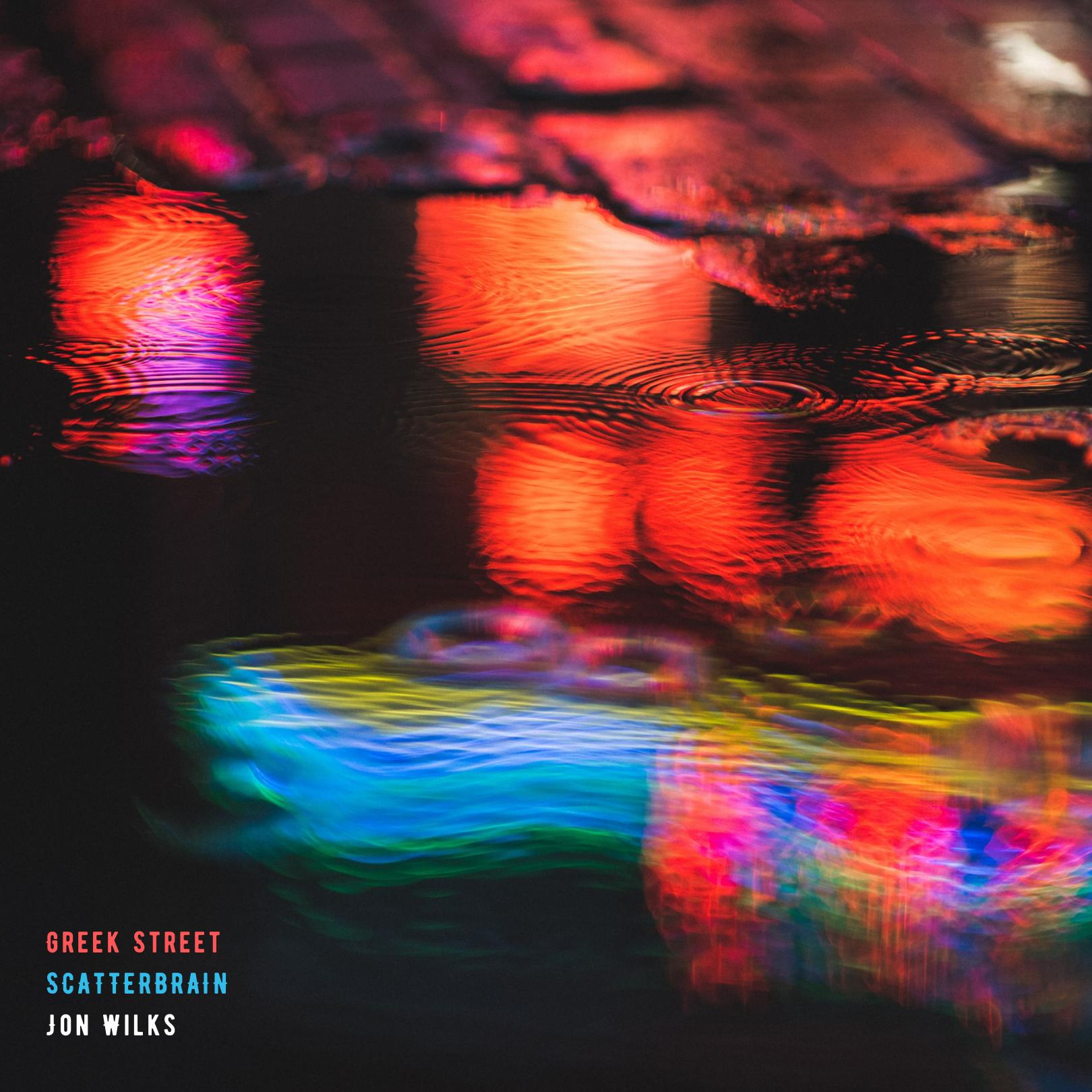 The single sleeve cover for Greek Street by Jon Wilks
